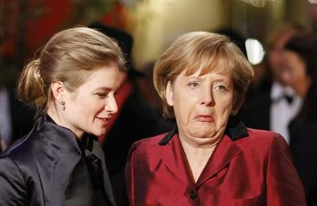 Berlinale 2009 - Jentsch, Merkelová