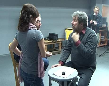 Zdeněk Troška - z kamerových zkoušek filmu Doktor od Jezera hrochů
