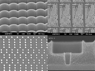 32nm architektura pod elektronovým mikroskopem