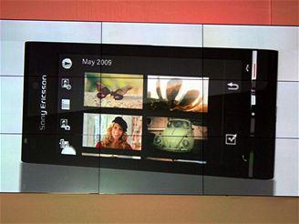 Tisková konference Sony Ericsson na WMC 2009