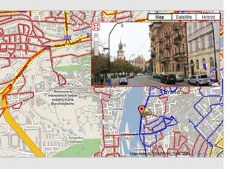 Praha má své streetview