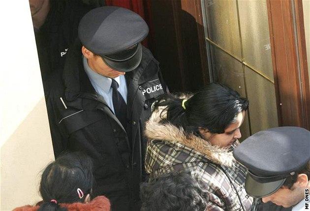 Exekuce v Chomutov� (17. února 2009)