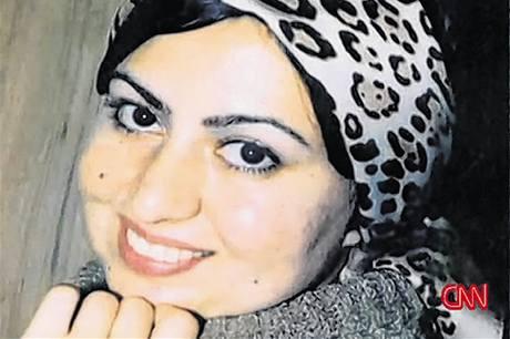 Íránka Amáni Bahramí.