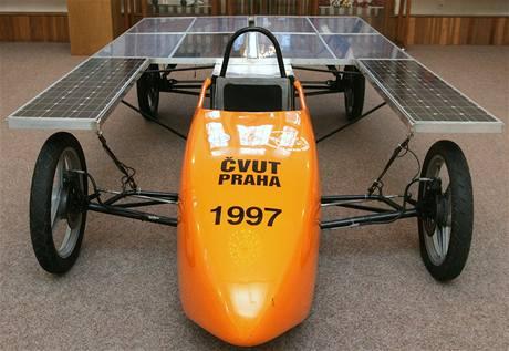 Solarmobil design Jiří a Václav Královi