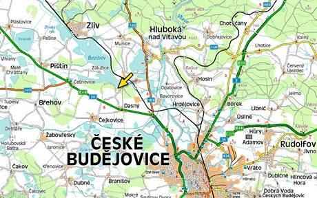 Mapa - Bezdrev