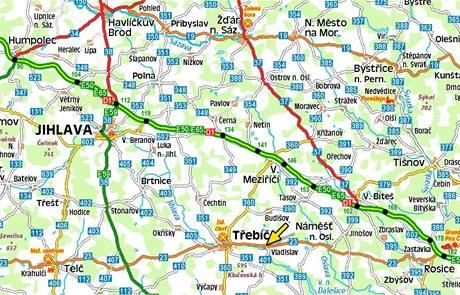 Mapa - Vladislav