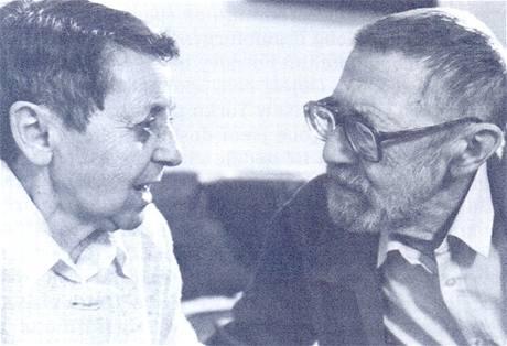Luba a Rudolf Pellarovi (90. léta)