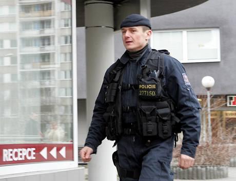 Policejní razie ve firmě Davida Berana