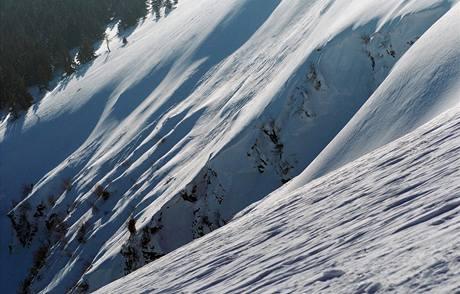 Velký kotel v Jeseníkách na snímku z roku 2005.