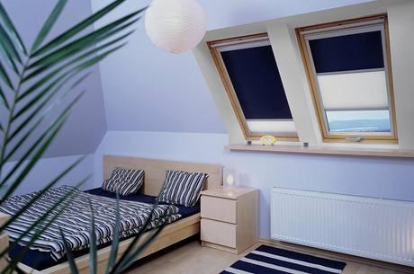 Modrá barva se v ložnicích objevuje nejčastěji