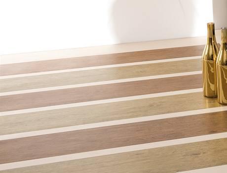 Velkoformátová dlažba může vypadat jako prkenná podlaha