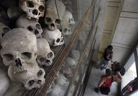 Památník obětem řádění Rudých Khmerů