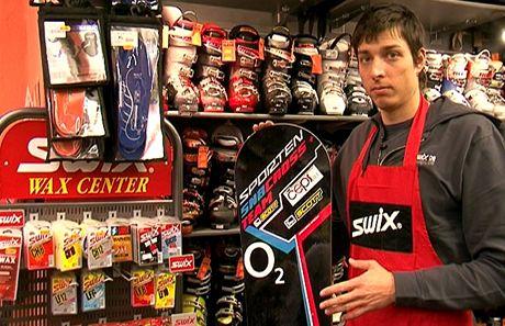 David Bakeš, jeden z našich nejlepších závodníků ve snowboardcrossu
