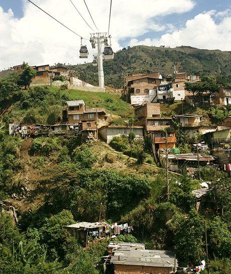 Kolumbie, Medellin