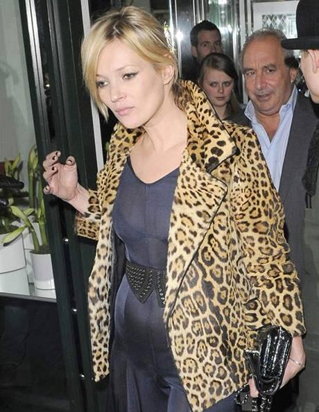 Kate Mossová je ve třetím měsíci těhotenství