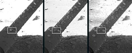 Tekuté kapky vody na Marsu