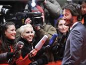 Berlinale 2009 - herec Keanu Reeves představil snímek The Private Lives Of Pippa Lee.