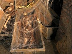 Nová strašidelná expozice ve Znojemském podzemí