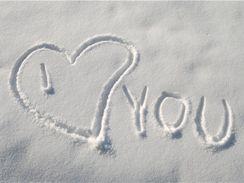 Potěší i srdce ve sněhu...