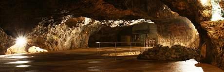 Medvědí sál v jeskyni Výpustek
