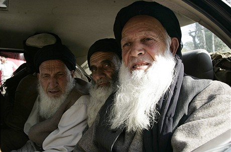 Delegace radikálních islamistů v údolí Svát (16.2.2009)