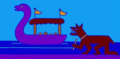 Pavel Brázda - Slavnostní loď-labuť (2008)