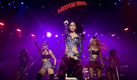 Pussycat Dolls vystoupily poprv� v �esku