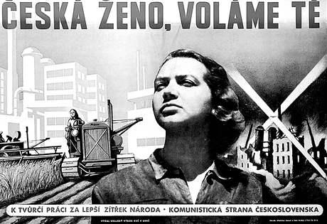 Budovatelský plakát