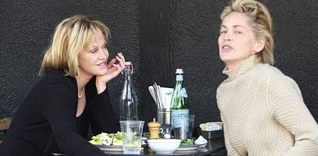 Sharon Stone a Melanie Griffithová