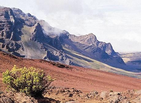 Haleakala na ostrově Maui.
