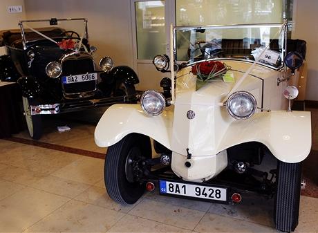Automobily - Svatební veletrh 2009