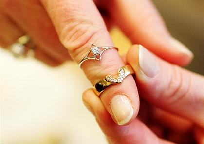 Dvoudílné prsteny - Svatební veletrh 2009