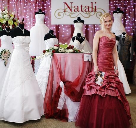 Šaty - Svatební veletrh 2009