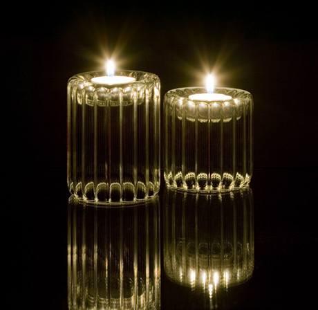 Dvojživelník jako svícen