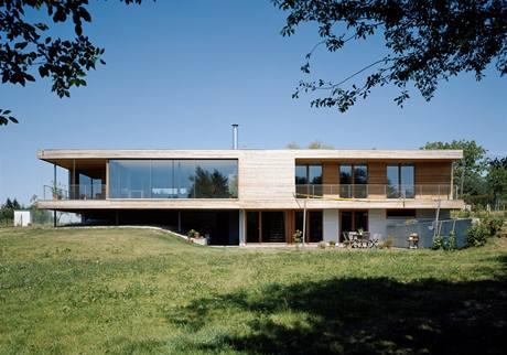 Rodinný dům v Lipanech - autor Helmut Dietrich