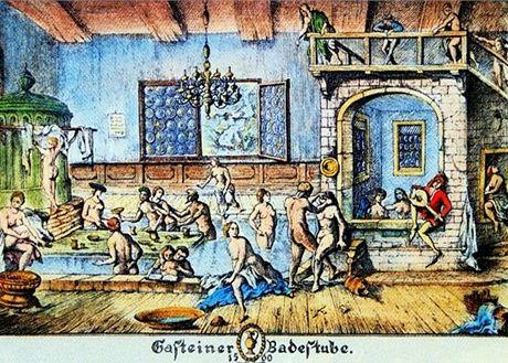 Rakousko, lázně v Bad Gasteinu byly známé již ve středověku