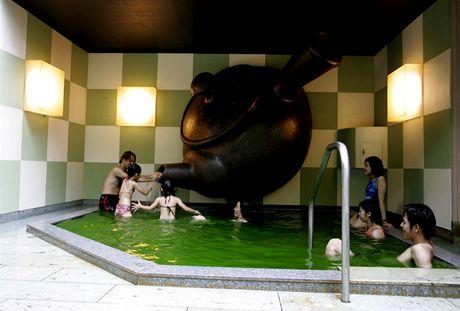 Lázně Junessun v japonském Hakone