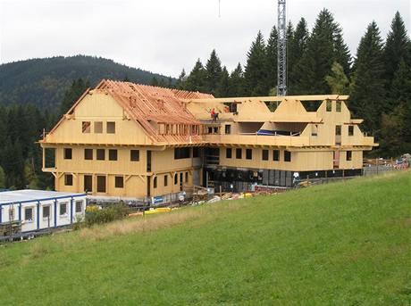 Montované domy z celodřevěných panelů
