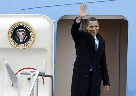Americký prezident Barack Obama na své první zahraniční cestě navštívil Kanadu