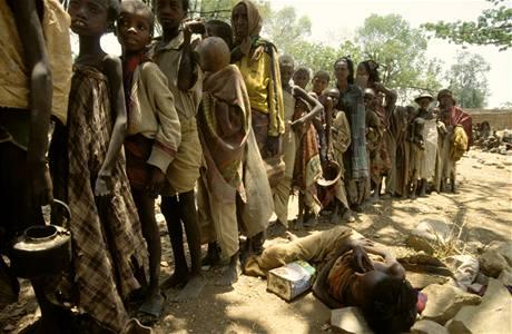 Uprchlický tábor Somálců