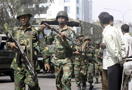 Vzpoura pohraničníků v Bangladéši