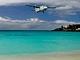 Karibik, Maho Beach na ostrově St Marteen