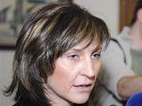 Primátorka Chomutova Ivana Řápková (23.2.2009)