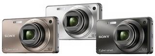 Sony W290 - Bronze, Silver, Black
