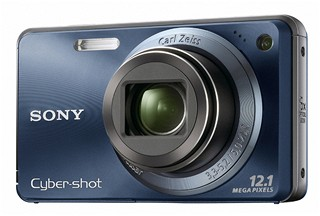 Sony W290 - Blue, zepředu