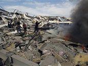 Důsledky izraelské ofenzivy v pásmu Gazy