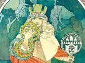 Alfons Mucha: VI. sokolský slet (plakát, 1912)
