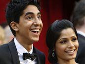 Oscar 2008 - Anil Kapoor, Lev Patel a Freida Pinto