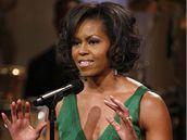 Michelle Obamová při předávání Gershwinovy ceny za rok 2008