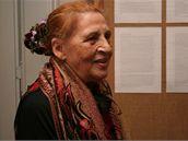 Ceija Stojka při návštěvě Prahy, 2009